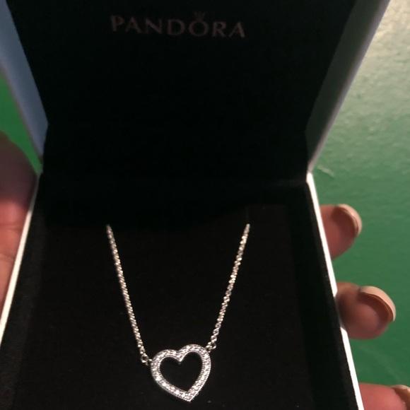 Pandora Jewelry Loving Hearts Of Pandora Necklace Silver Poshmark